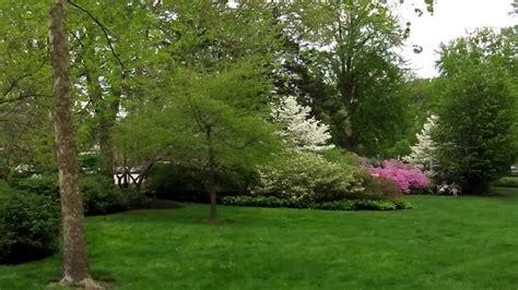 walking   azalea garden   art museum