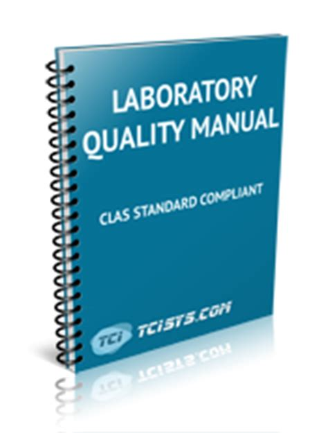laboratory quality manual