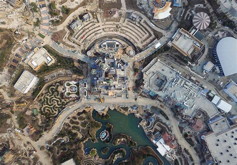 Pictures Of The Aerial Pictures Of The Shanghai Disneyland Theme Park3