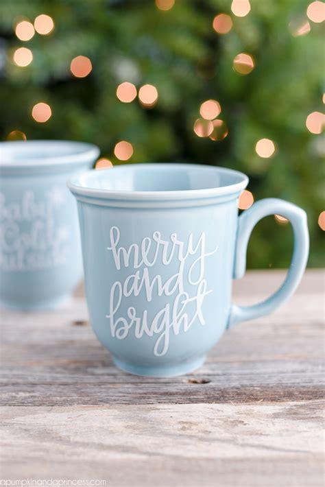 christmas coffee mug gift  pumpkin   princess