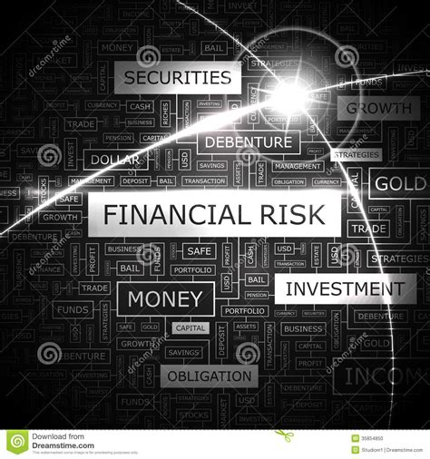 financial risk stock photo image