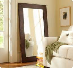 wooden floor mirrors