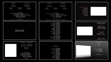 Credit Roll Template 10 Free End Credits Template For After Effects