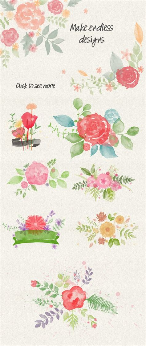 photoshop tutorial watercolor flower floral watercolor ps st brushes watercolors