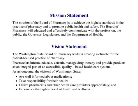 mission statement template personal vision statement education buy paper