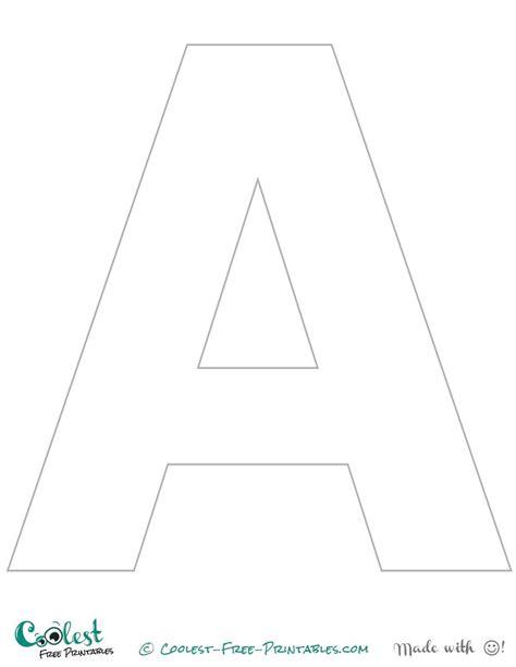 letter printable stencil uppercase stencils