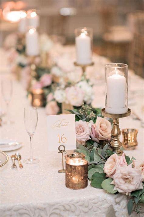 elegant neutral wedding centerpieces   trends