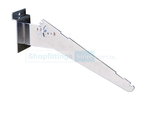slat panel adjustable angle shelf brackets 250mm