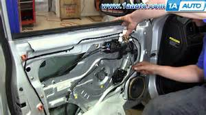 Electric Car Window Motor Repair How To Install Replace Front Power Window Motor 2001 06