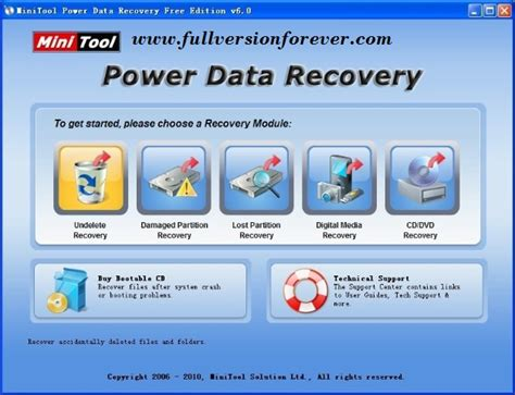 any data recovery full version free download minitool power data recovery personal latest version for pc