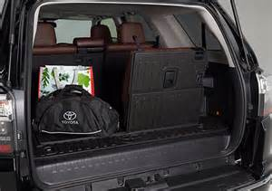 Cargo Mat For Toyota 4runner 2015 Toyota Canada 4runner Gt Options Accessory Pricing