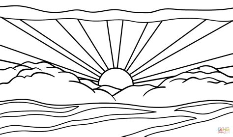 coloring pages about coloring page landscape coloring page gallery