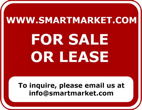 website for sale smartmarket for sale or lease