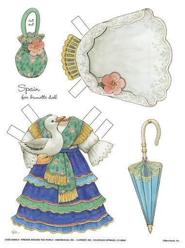 How To Make String Of Paper Dolls - 17 best images about dolls paper on gabriel