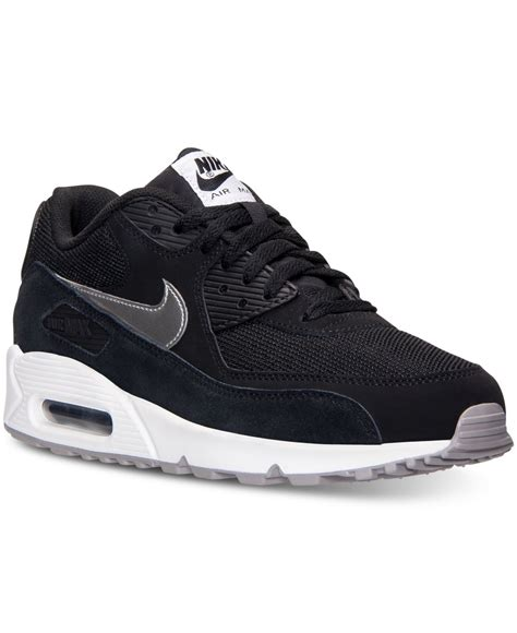 macys mens athletic shoes nike s air max 90 essential running sneakers from