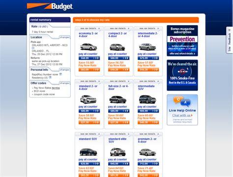 Rental Prices by Usrentacar Co Uk 174 Car Hire Usa 187 Budget Rent A Car
