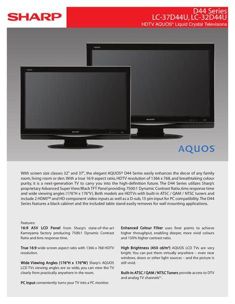 Tv Sharp Tv Sharp sharp aquos lcd tv manual 187 sharp aquos led tv user manual moto pk ru
