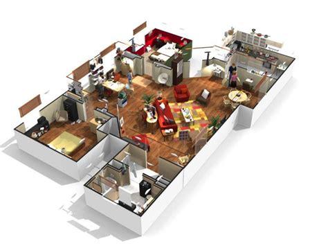 plan interieur 3d gratuit