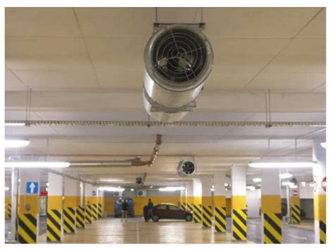 jet fan ventilation system parking garage ventilation concept reduces