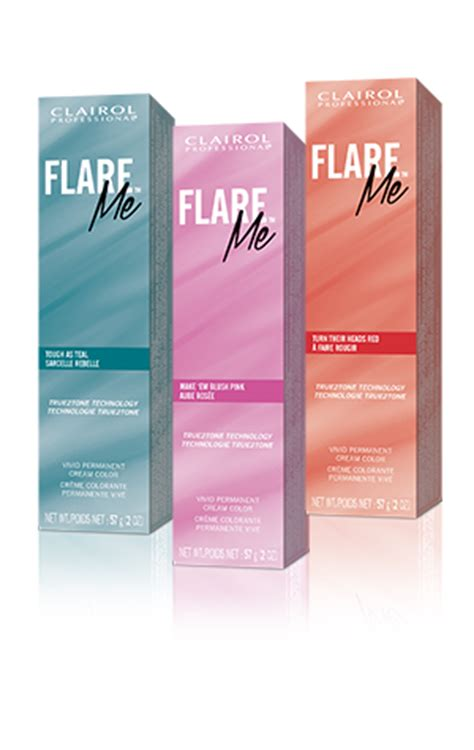 clairol professional flare hair color chart clairol flare professional hair color professional