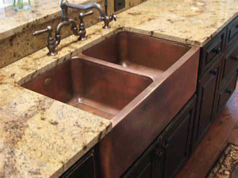 copper undermount farmhouse sink copper kitchen sinks signature kitchen copper sink