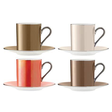 buy coffee cups buy lsa international polka assorted coffee cups saucers