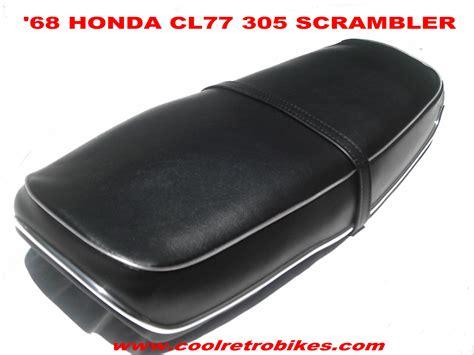 bike seat cl install honda 305 scrambler cl 77 seat restored 68 orng