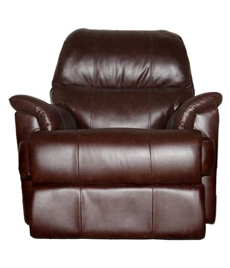 one seater recliner westido rio single seater recliner in brown buy westido