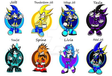 sonic fan made my sonic fan characters pt 1 by arung98 on deviantart