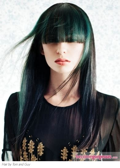 hilites toni and guy low lites go gorgeous green hair shines of green hair color