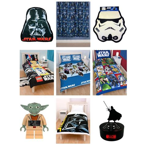 star wars bedroom accessories star wars bedding bedroom accessories new official
