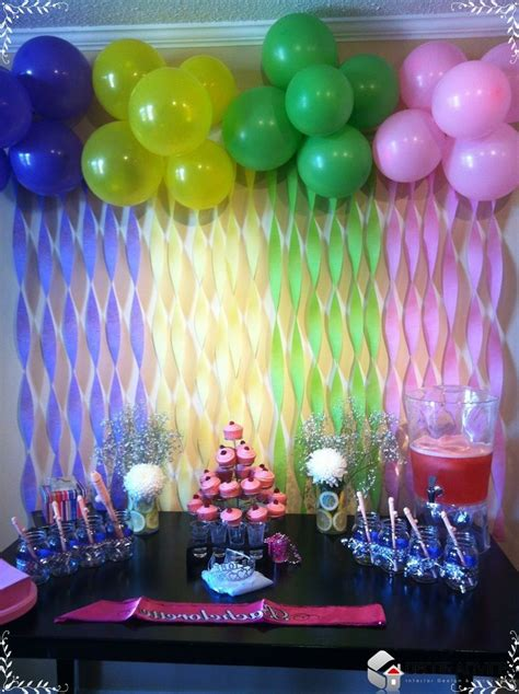 Home Made Birthday Decorations best 25 cheap party decorations ideas on pinterest diy