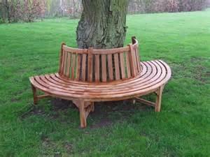 tree benches uk teak tree bench half