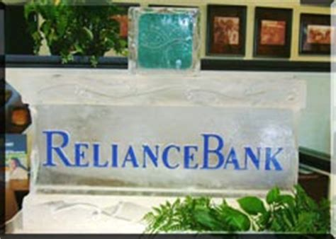reliance bank stl visions sculpture logos