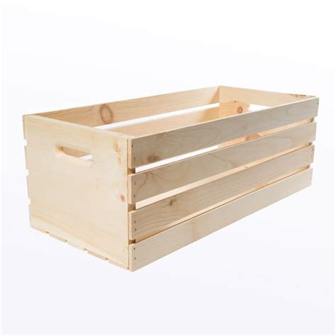 in crate crates pallet 27 in x 12 5 in x 9 5 in x large wood crate 2 pack 94646 the