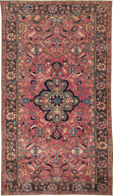 isfahan antique rugs images