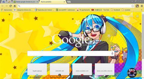 theme google chrome miku miku theme google chrome by alechivis on deviantart