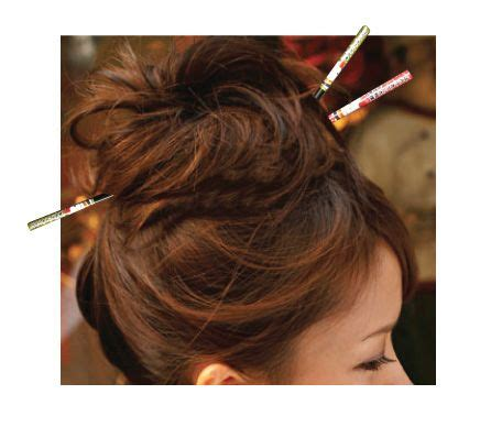 hairdue style 93 best images about chopsticks hairdue on pinterest