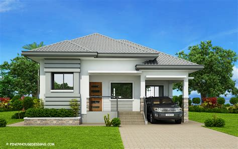 3 Bedroom Bungalow Design Gorgeous 3 Bedroom Modern Bungalow House Plan Myhomemyzone