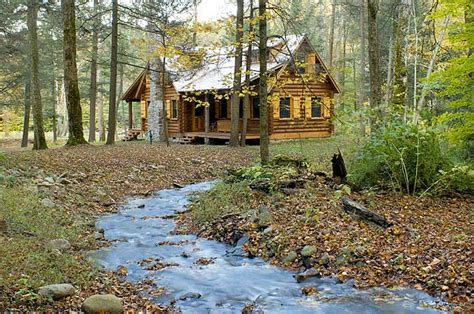 Cabin In The Woods by Rustic Retreat Log Cabin In The Woods