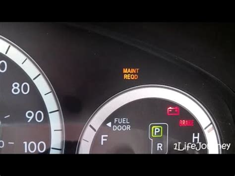 How To Reset Maintenance Light On 2004 Toyota Camry Remove Maint Reqd From Toyota 2014 Autos Post