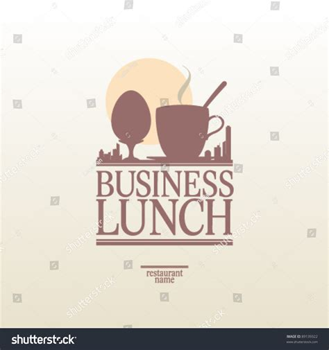 Lunch Card Template by Business Lunch Menu Card Design Template Stock Vector