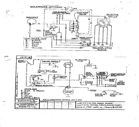 lincoln welder ac 225 125 wiring diagram wiring diagrams