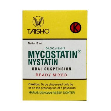 Obat Nystatin jual taisho mycostatin drops obat kesehatan 12 ml