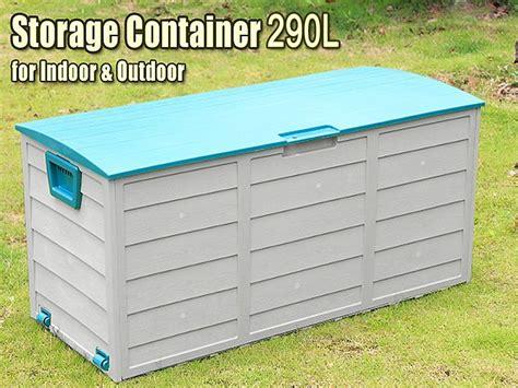 garden storage container 290l outdoor storage container box sales we