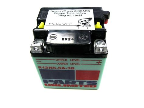 12v 5 5ah battery ls2 rd125 ds7 r5 rd350 by parts