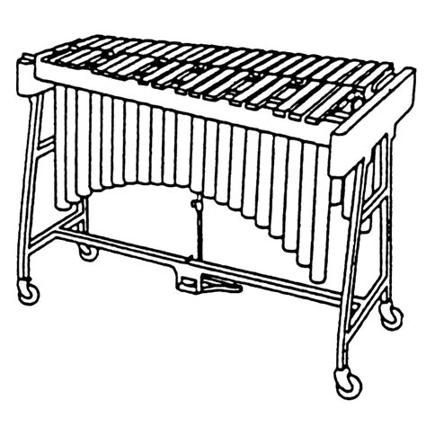 free coloring page xylophone xylophone coloring pages