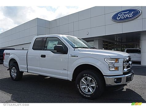2016 white ford f150 2016 oxford white ford f150 xlt supercab 4x4 113061658