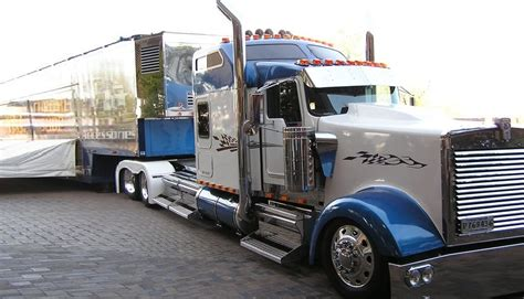 custom built semi truck sleepers pictures to pin on
