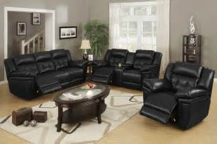 Black Livingroom Furniture by Black Leather Living Room Furniture Black Living Room